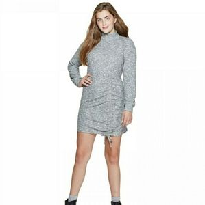 Xhilaration Gray Long Sleeve Dress